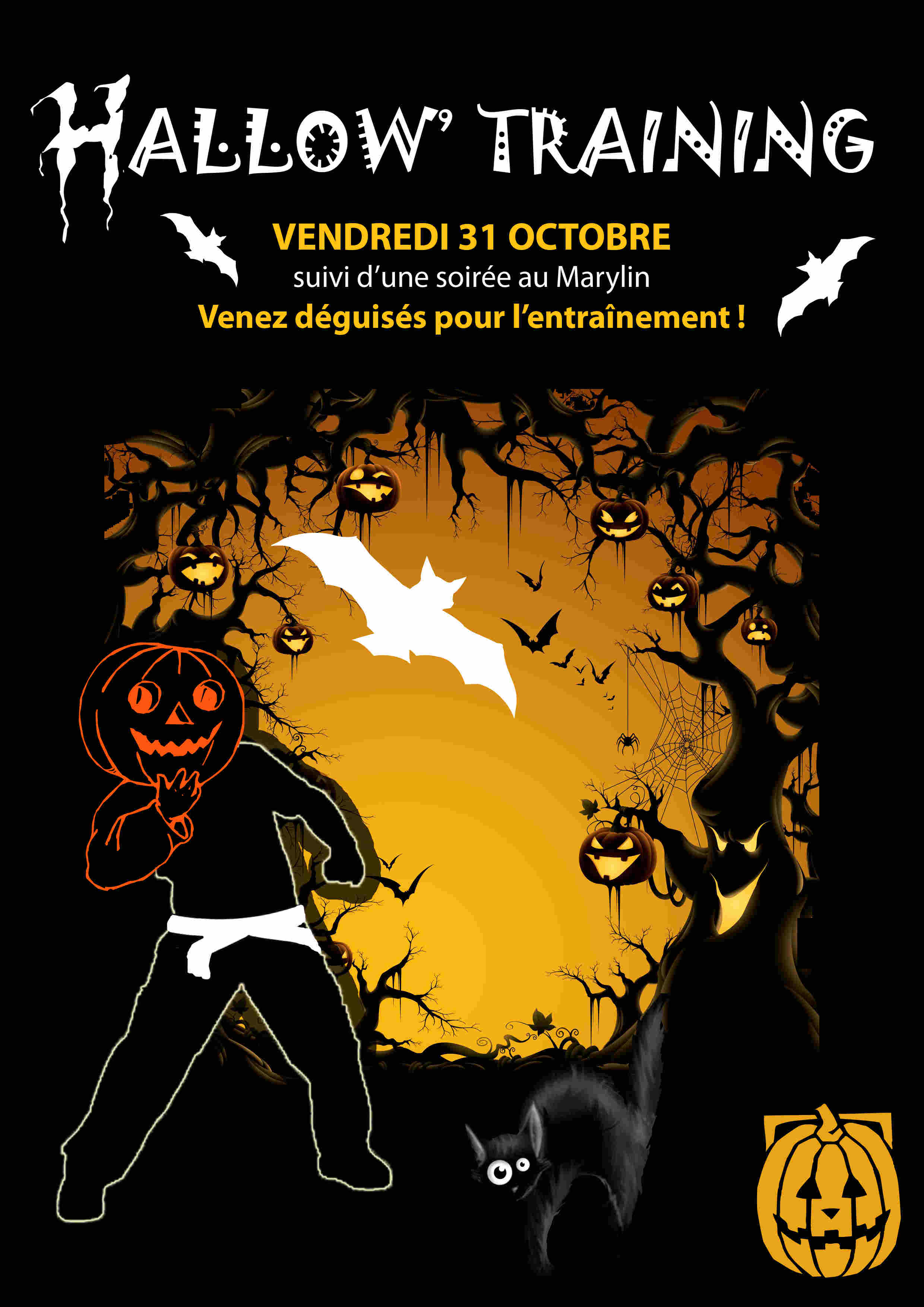 Hallow' Training le 31 Octobre 2014